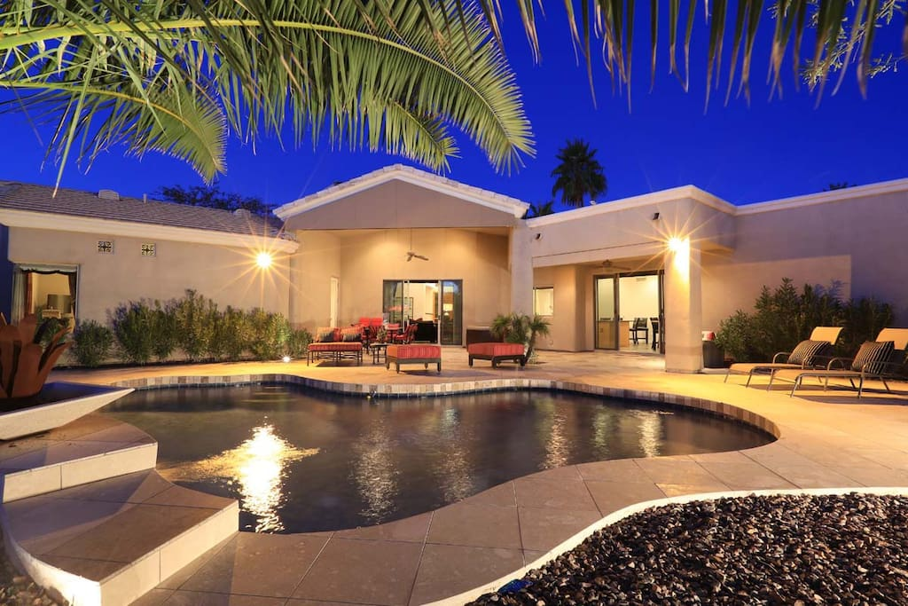 Private back yard! No neighbors to rear and hidden on sides