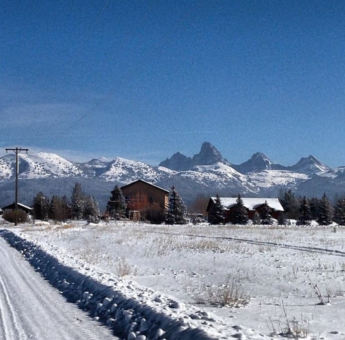 Nestled underneath The Grand Tetons and Grand Targhee