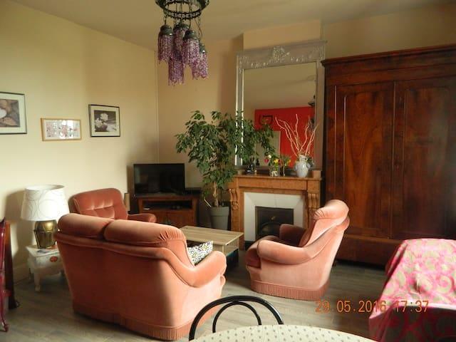 Appartement avec  grand jardin  très calme - Andrézieux-Bouthéon - Wohnung