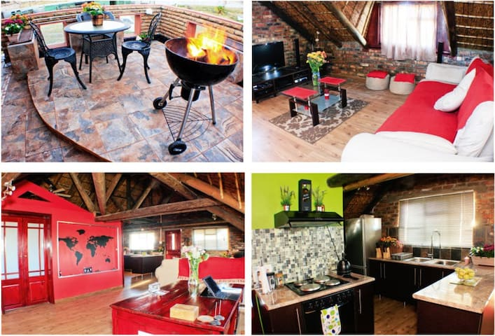 "The ""Great Hippo"" Lodge - Cape Town - Loft"