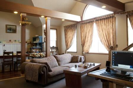 다빈치, 설악산과 낙산사 인근 2개의 침실이 있는 복층 객실 - Ganghyeon-myeon, Yangyang - ที่พักพร้อมอาหารเช้า