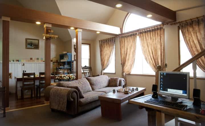 다빈치, 설악산과 낙산사 인근 2개의 침실이 있는 복층 객실
