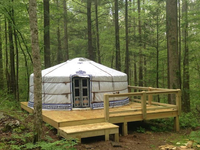 Glamping in the Smokies with Skylight to the Stars