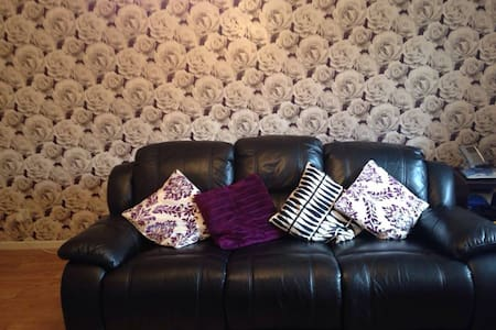 Modern spacious apartment - 5 min from the City - Wolverhampton - Huoneisto