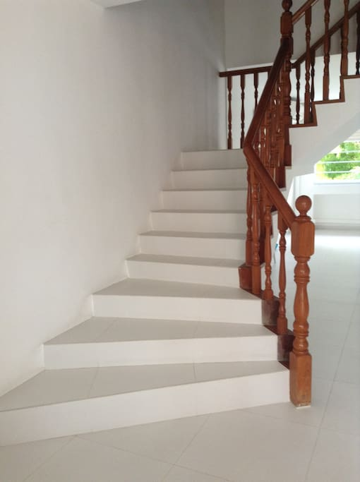 Staircase Leading To Guest Room On 2nd Floor