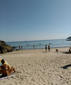 Apartamento a 100 mts de playa de Estorde - Fisterra - Huoneisto
