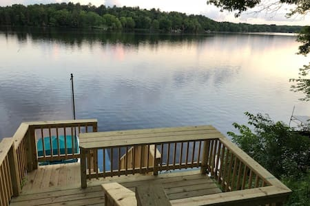 Lake Wissota Getaway with Water View and Access