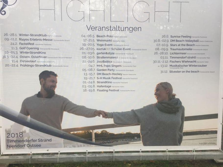 Events & Hightlights Timmendorf 2018