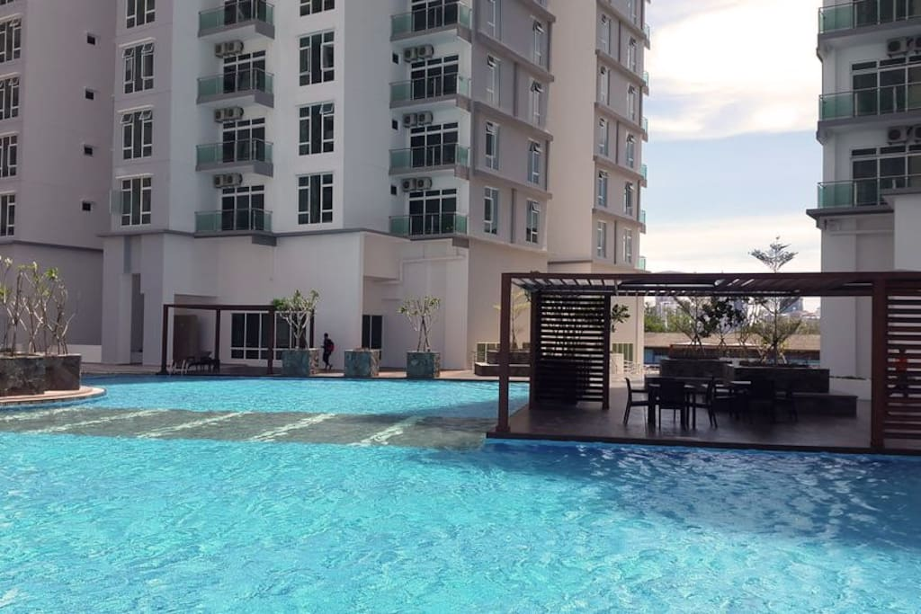Wide Swimming Pool