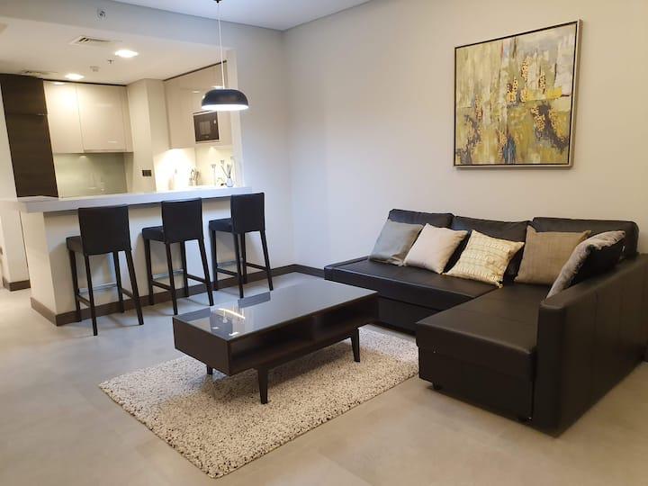 Entire 1 bedroom Luxury Flat- City Center, Seef.