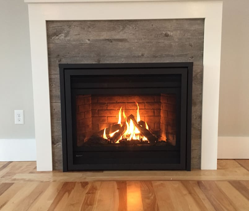 Relax by our fireplace