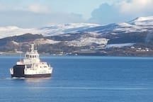 Raasay in the snow