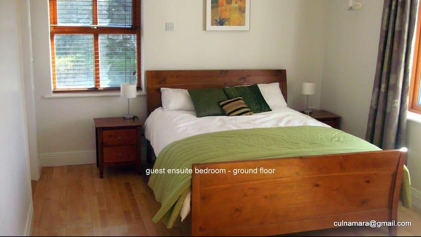 Ground floor en-suite bedroom with king size bed