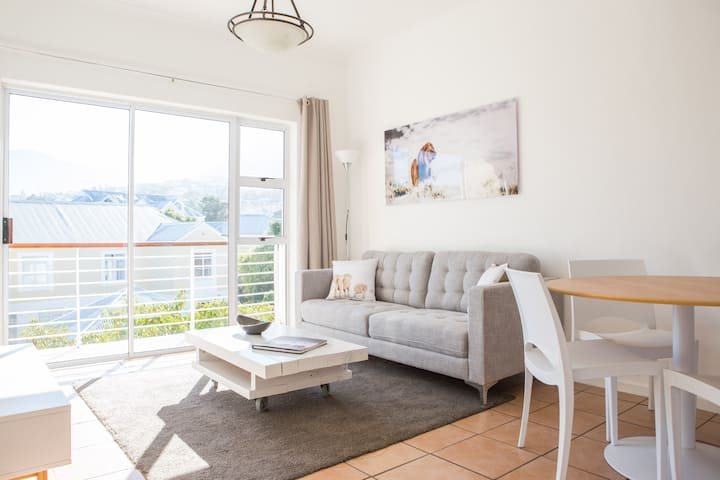 Sunny apartment with views in secure complex