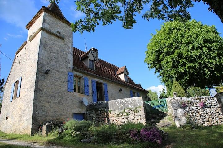 Pigeonnier du Quercy, espace, calme, authenticité