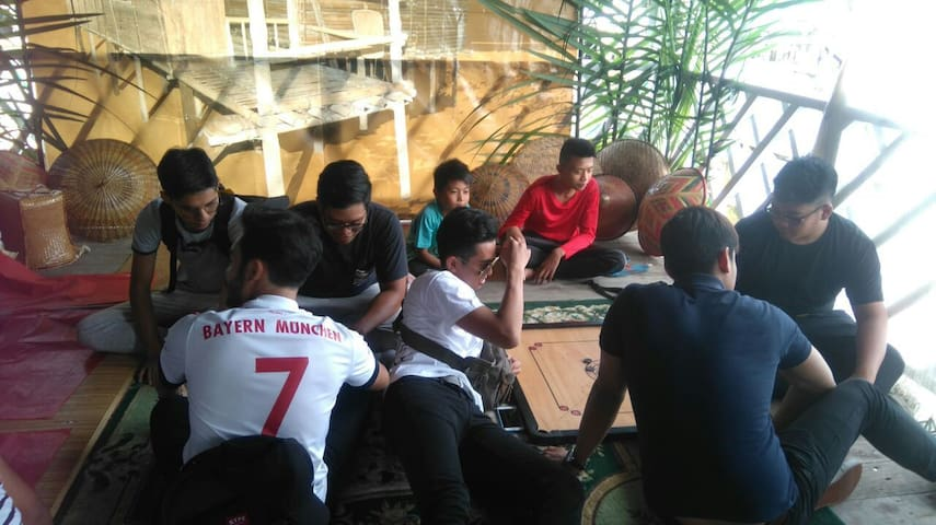 Water village Warisan Homestay for family holiday