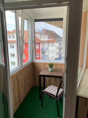 Guest Bedroom's balcony - Gast Schlafzimmer Balkon