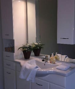 DOUBLE ROOM with LUXURIOUS BATH BEAUTIFUL.Hinnaard - Hinnaard - House