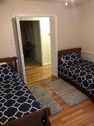 New twin beds