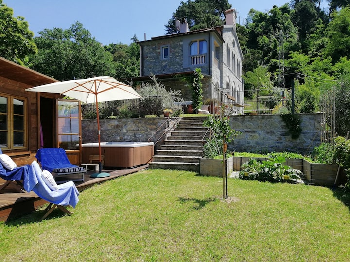 L'innamorata b&b villa storica vista mare jacuzzi