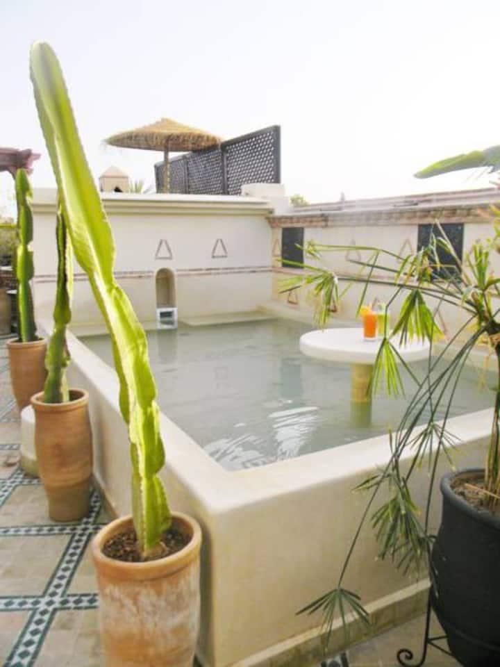 B&B Riad El wiam - charmant room