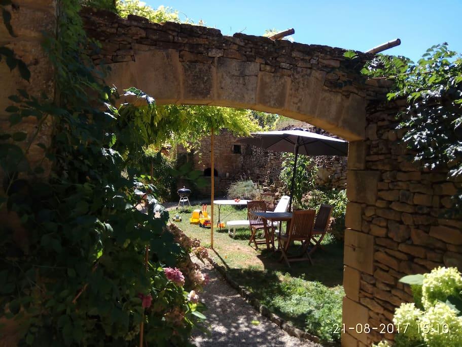 """La Bignone"" jardin privé"