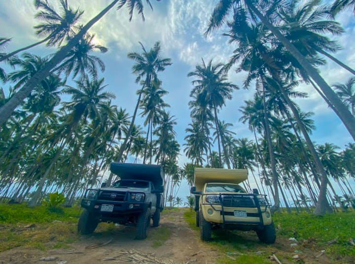 "4x4 Camper ""The Barnacle"" @ Costa Rica Overlanding"