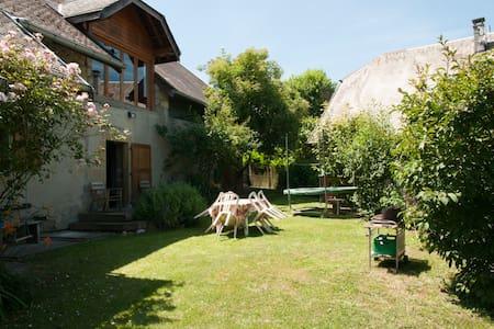 Maison de charme à la campagne à 14km d'Annecy - Marcellaz-Albanais - Ház