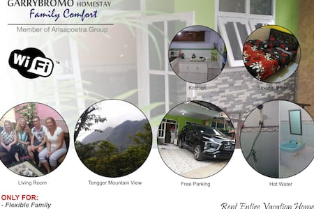 Garry Bromo Homestay (Entire Rooms)