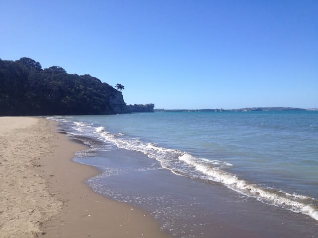 """Beach Retreat"" 300m from the beach - Auckland - Chatka w górach"