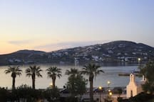 The view from the front balcony.  To see videos of the rooms, please try you tube hotel parko channel.