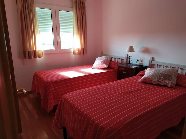Hab  2 camas cocina comp Baño comp. Casa Valentina