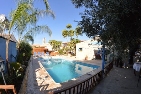 Cottage Houses 2 Bedroom Swimming Pool Near Sea - Pentakomo