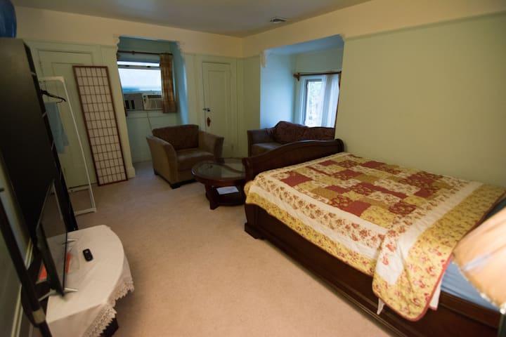 JFK 10 & LGA 15 minutes, One Bed Room