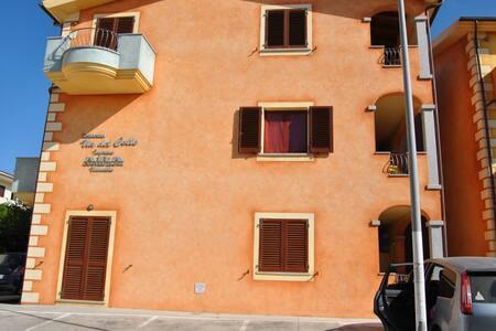 Ottimo appartamento in complesso con piscina - Viddalba