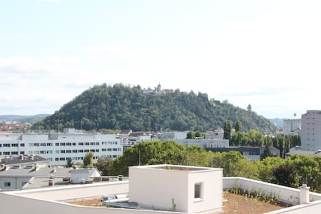 Schlossberg View , free parking, 2-room apartment