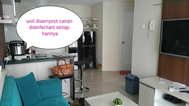 Apartment Altiz Bintaro 2 kamar by selvy