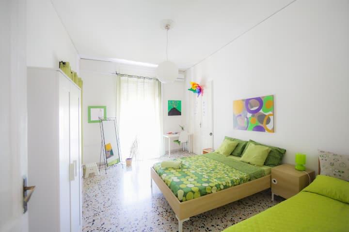 Rossonapoletano B&B Napoli Green