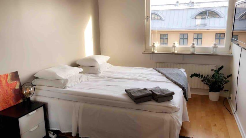 Accommodation in the city center, Linnégatan.
