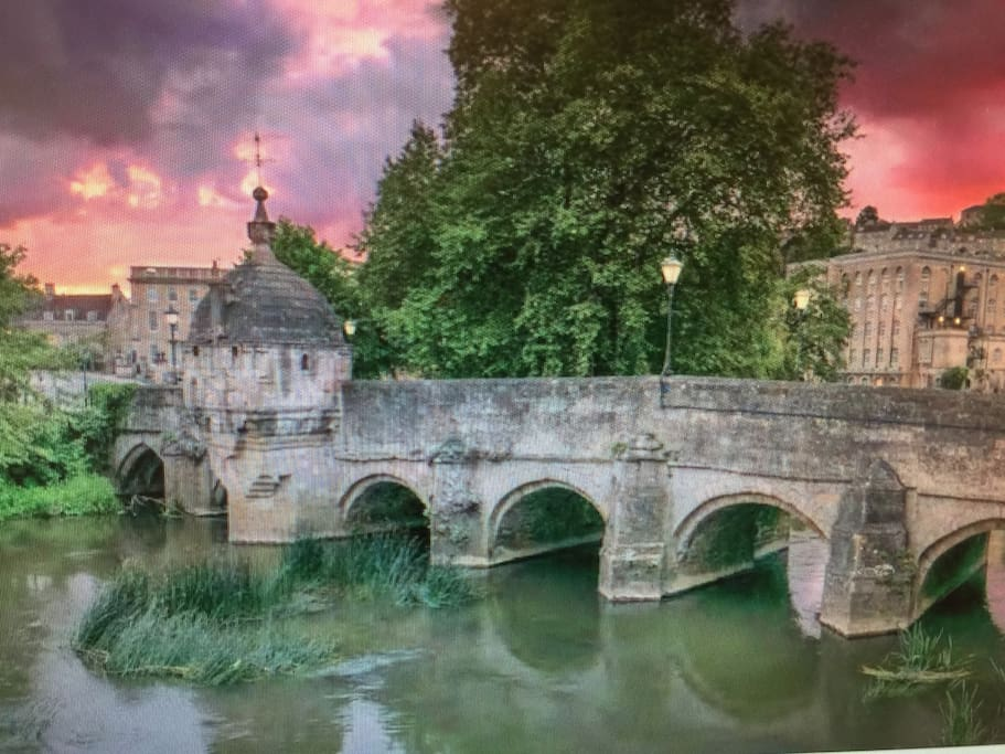 Bradford on Avon's town bridge