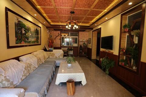 西安咸阳机场复式独栋度假别墅(24小时免费接送机)