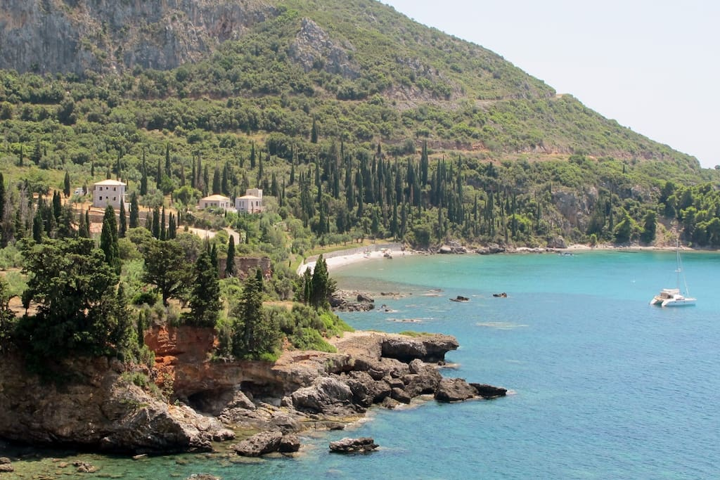 One of the most beautiful Coastlines in Greece