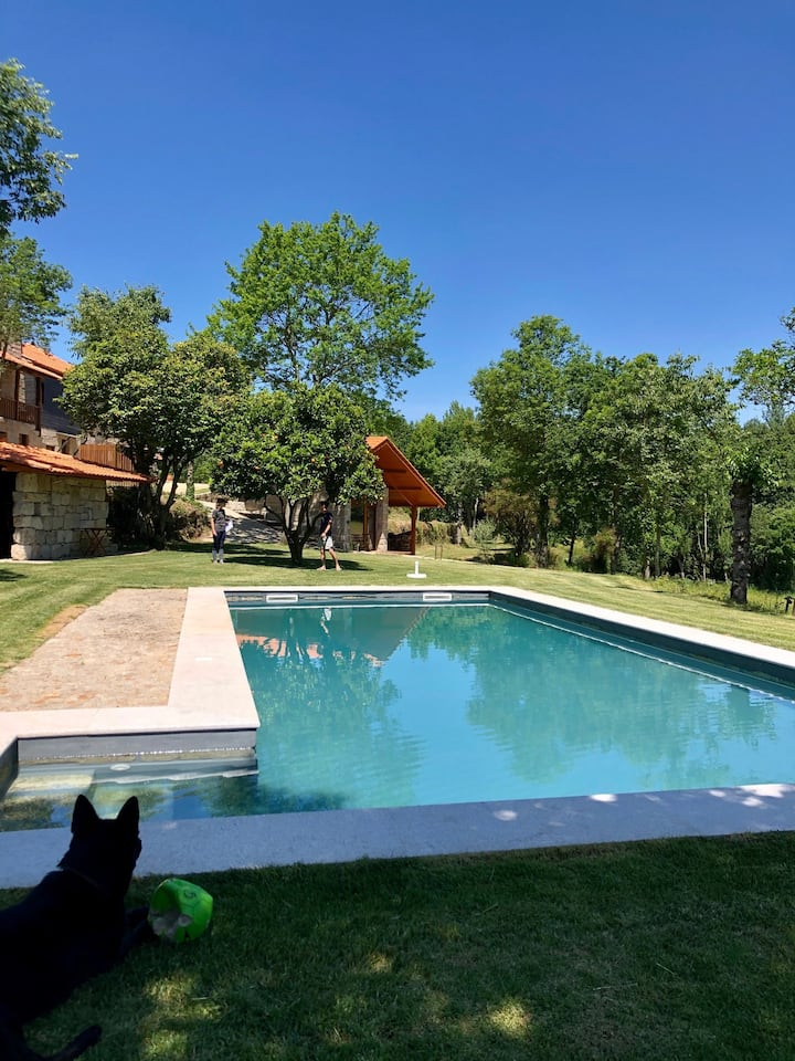 Amazing Farm House with Pool-Alambique