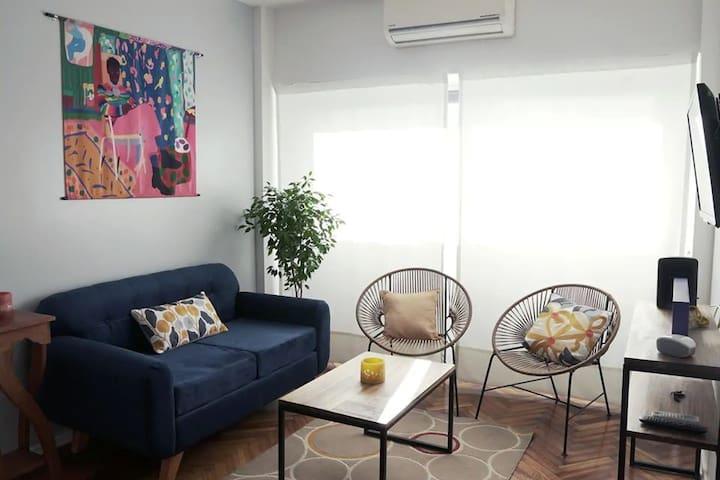 Hermoso departamento en San Telmo. 2 dormitorios.