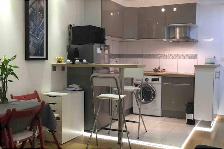 Joli studio dans Paris en bail mobilité