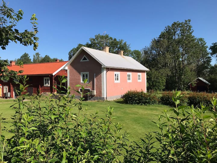 The Pink House. Charming, rustic, country living.