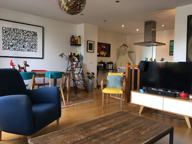 Grand appartement avec terrasse à 2 pas de Paris - Romainville - Lägenhet