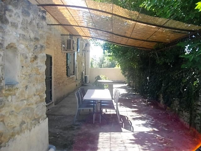 Gite provençal terrasse ombragée proche ventoux - Mazan - Haus