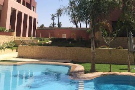 Marrakech Centrte ville residence avec piscine - Condominium