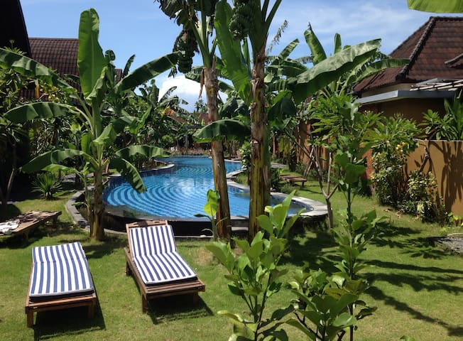 Ideal Young Family / Couple house GIANT Pool Sanur